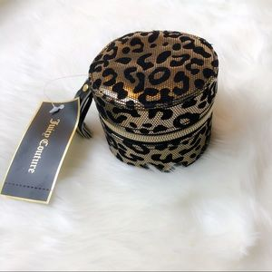 Juicy Couture Leopard Small Jewelry Box NWT